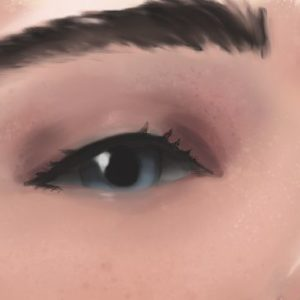 Detail one: eyes